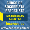 Cadenas - Curso de Socorrista Resgatista - Banner 4